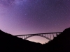Milky Way over New River Bridge