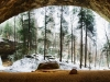 Ash Cave Winter Panorama