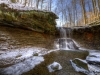 Blue Hen Falls Winter