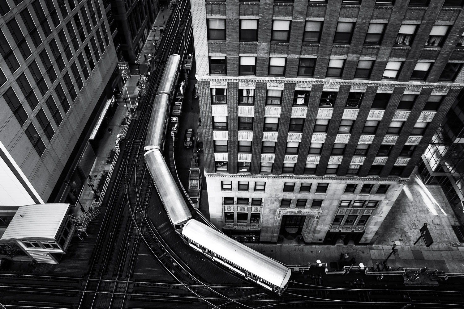 The L from Above, Chicago, IL